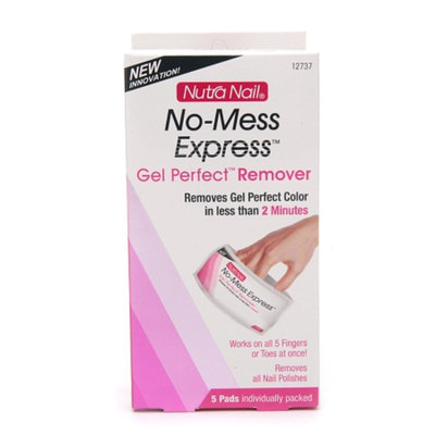 Nutra Nail No-Mess Express Gel Polish Remover