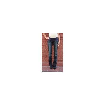 MEK Denim Mek Maternity Jeans : Marrakech Slim Bootcut - Dark Blue (25W x 34L)
