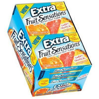 Extra Fruit Sensations - Sweet Tropical,10 packs with 15 sticks per pack