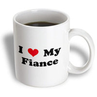 Recaro North 3dRose - Mark Andrews ZeGear Love - I Love My Fiance - 15 oz mug