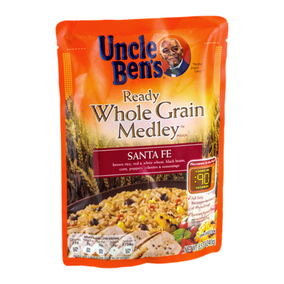 Uncle Ben's Ready Whole Grain Medley Sante Fe