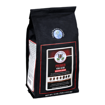 Unique Coffee Roasters Premier Kona Blend Precision Ground Coffee