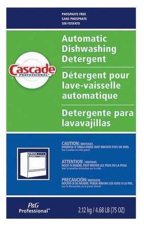 CASCADE 59535 Dishwashing Detergent,75 oz, Fresh, PK7