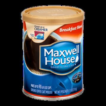 Maxwell House Breakfast Blend Roast Coffee