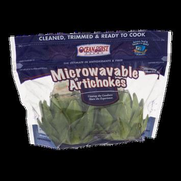 Ocean Mist Farms Microwavable Artichokes - 2 CT