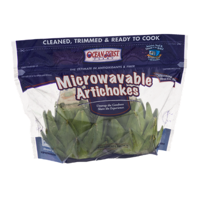 Ocean Mist Farms Microwavable Artichokes - 2 CT