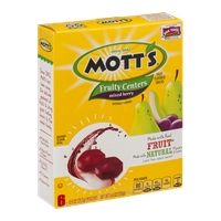 Mott's Fruity Centers Mixed Berry Pouches