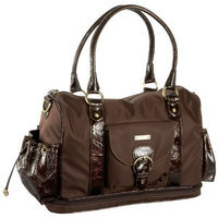 Storksak Alison Large Shoulder Diaper Bag,Chocolate,one size (Discontinued by Manufacturer)