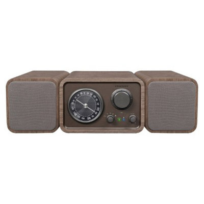Crosley TRIO Stereo System - Brown Face (CR3019A-BR)