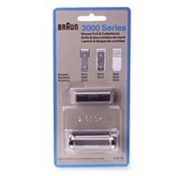 Braun System 1-2-3 3000 Series Shaver Foil and Cutter Head