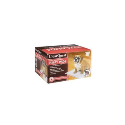 ClearQuest US192 99 Super Absrbncy Puppy Pads 100 Pk Box