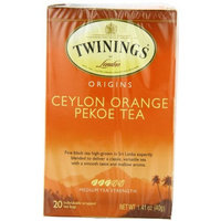 Twinings Ceylon Orange Pekoe Tea, Tea Bags, 20-Count Boxes (Pack of 6)