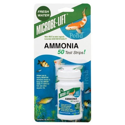 Ecological Labs Microb-Lift Test Kits Ammonia Pond 50 Strips