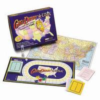 Geo Derby USA Board Game