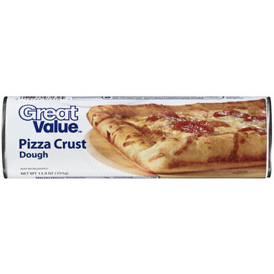 Great Value Pizza Crust Dough, 13.8 oz