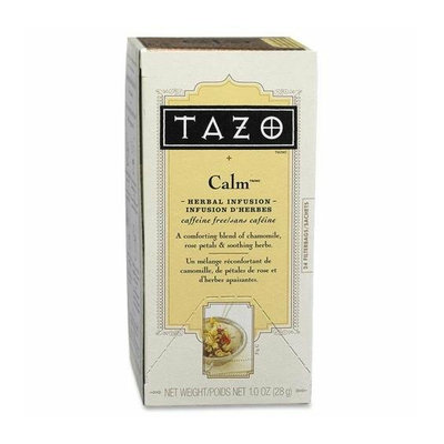 Starbucks 149901 Tazo Tea Caffeine Free Calm Blend Herbal 24/CT