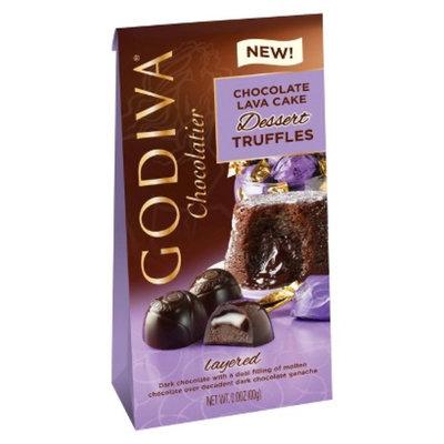Godiva Lava Cake Dark Truffle Chocolate Candy 4.3 oz