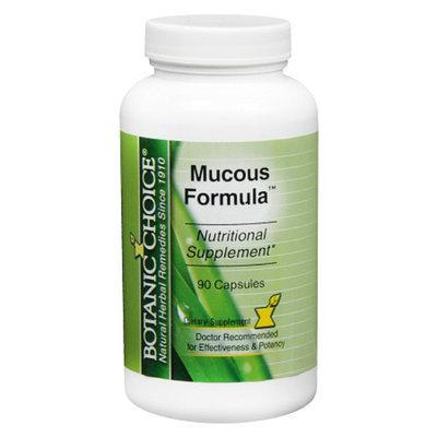 Botanic Choice Mucous Formula Dietary Supplement Capsules