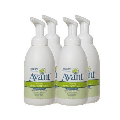 Avant Foaming Fragrance Free Avant Foaming Fragrance-Free Instant Hand Sanitizer Bundle (4 Bottles)
