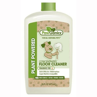 PawGanics Floor Cleaner Concentrate Fragrance Free - 16 oz