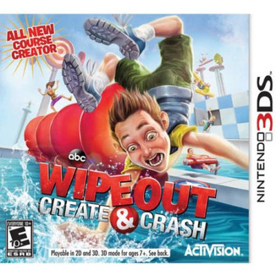 Activision Pre-Owned Wipeout Create & Crash for Nintendo 3DS