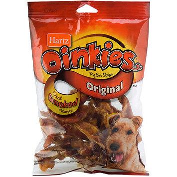 Hartz Oinkies Original Pig Ear Strips Dog Chew Treats, 9 oz