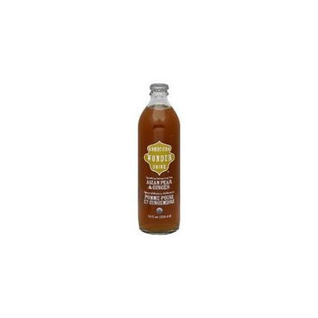Kombucha Wonder Drink Asian Pear & Ginger, 14-Ounce (Pack of 12)