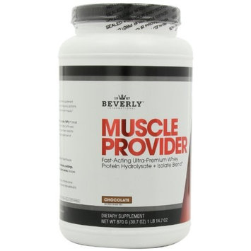 Beverly International Muscle Provider, Chocolate Flavor, 1-Pound 14.7-Ounces