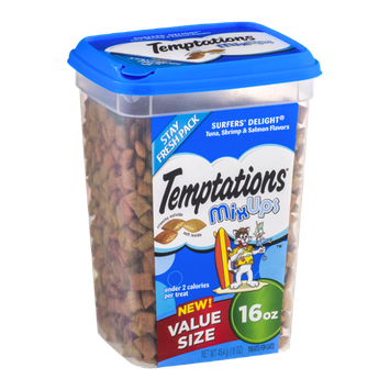 Temptations MixUps Treats For Cats Surfers' Delight