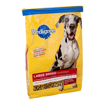 Pedigree® Dog Food Large Breed Nutrition