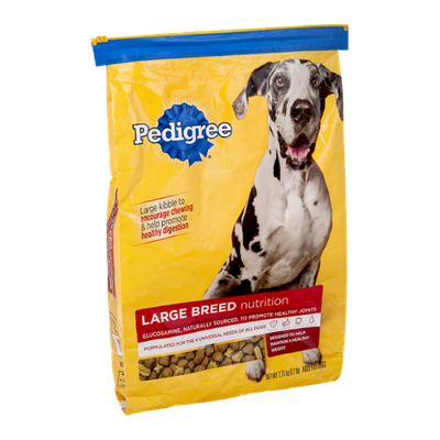 Pedigree® Dog Food Large Breed Nutrition