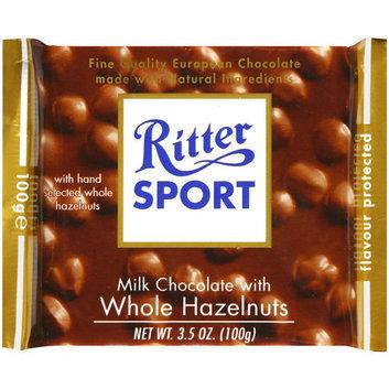 Ritter Sport : Milk Chocolate Whole Hazelnut