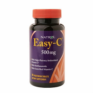 Natrol Easy-C 500 mg with Bioflavonoids