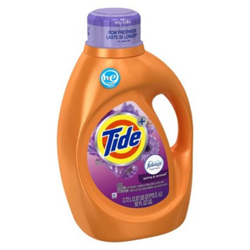 Tide Plus Febreze Spring & Renewal High Efficiency Liquid Laundry