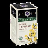 Stash Organic Herbal Tea Caffeine Free Vanilla Honeybush - 18 CT