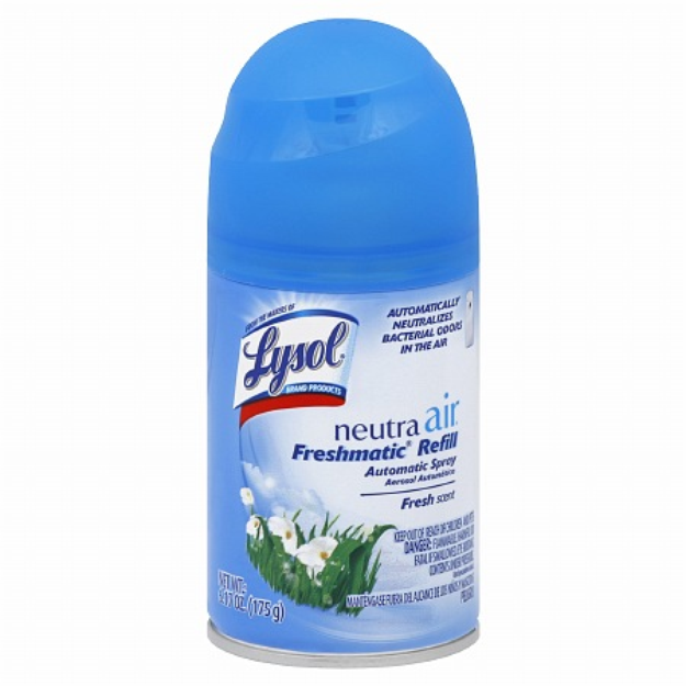 Lysol Neutra Air Freshmatic Air Treatment Refill Spray Fresh Scent