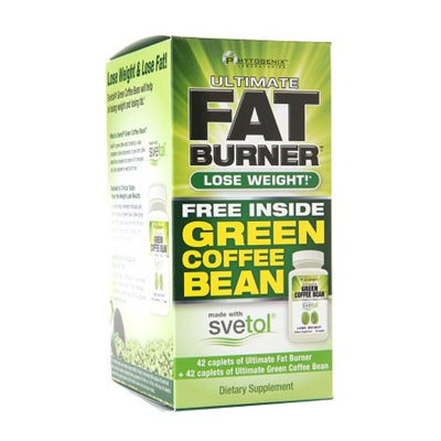 PhytoGenix Ultimate Fat Burner Green Coffee Bean Dual Packs
