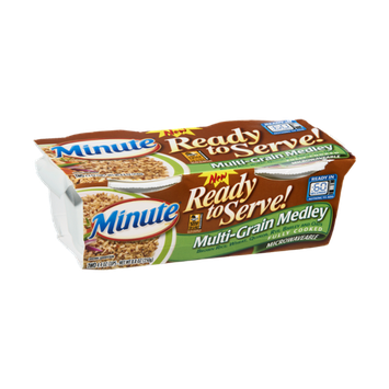 Minute Ready to Serve Microwaveable Multi-Grain Medley Rice - 2 CT