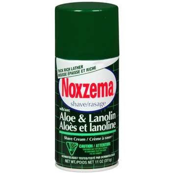 Noxzema Shaving Medicated Shave with Aloe and Lanolin