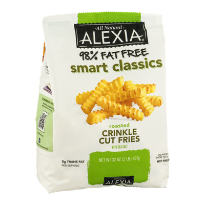 Alexia All Natural Crinkle Cut Fries Roasted