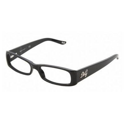Dolce & Gabbana Eyeglasses DD 1163 501 Black 50MM