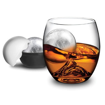 On the ROCK Glass with Ice Ball Maker