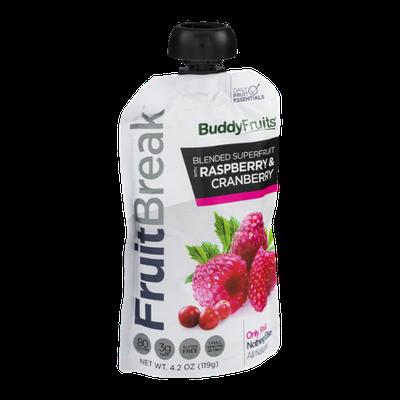 Buddy Fruits FruitBreak Blended Superfruit with Raspberry & Cranberry