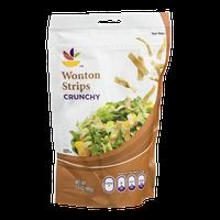 Ahold Wonton Strips Crunchy