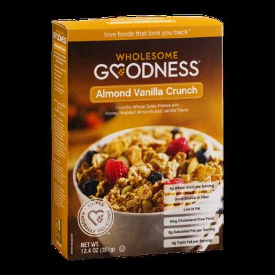 Wholesome Goodness Almond Vanilla Crunch