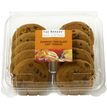 Wal-mart Bakery The Bakery Pumpkin Chocolate Chip Cookies, 10 count, 14.5 oz