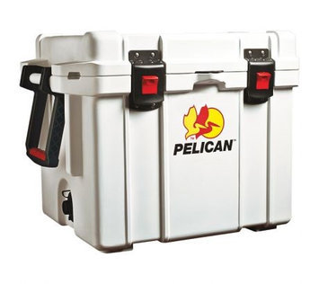 PELICAN 35Q-MC Full Size Chest Cooler,35 qt, White