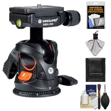 Vanguard BBH-200 Tripod Ball Head with Quick Release with Accessory Kit for DSLR Cameras