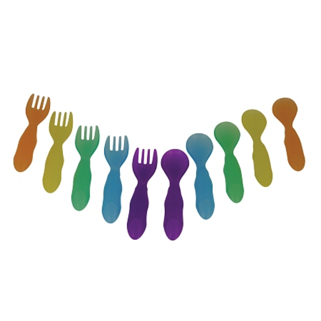 The First Years Take & Toss Toddler Flatware