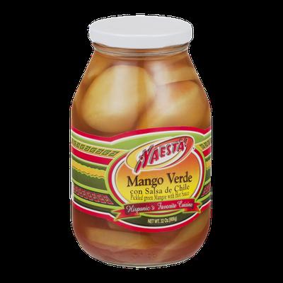 Yaesta Mango Verde con Salsa de Chile